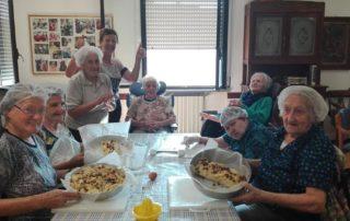 asp langhirano torte fatte dagli anziani